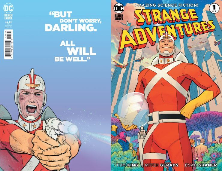 'Strange Adventures' #1, #3, and #4 get second printings