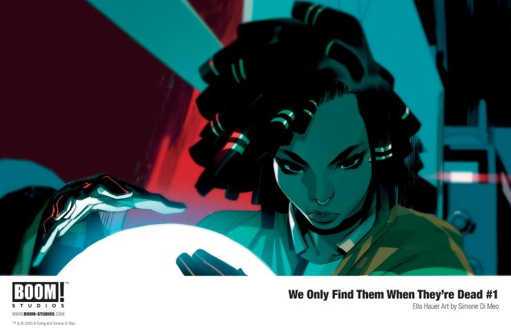 Get a closer look at the characters in 'We Only Find Them When They're Dead'