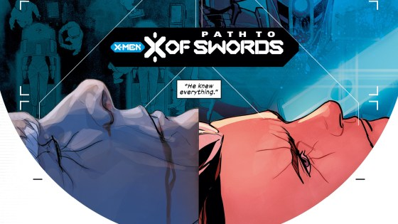 The path to X of Swords goes through Cable #4.