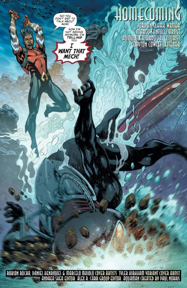 DC Preview: Aquaman #62