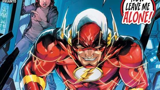 """Finish Line"" part one of six – leading to the finale of Joshua Williamson's legendary run on The Flash!"