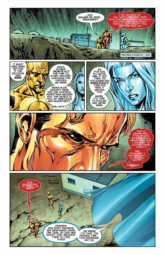 DC Preview: Metal Men #9