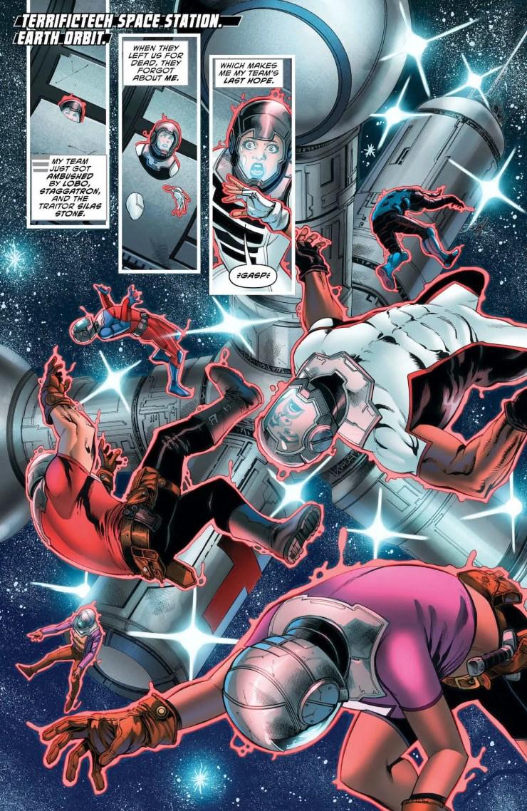 DC Preview: The Terrifics #30