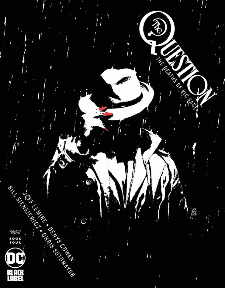 DC Preview: The Question: The Deaths of Vic Sage #4