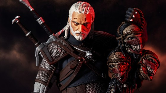 This Christmas you can own the Witcher action figure thanks to McFarlane Toys!