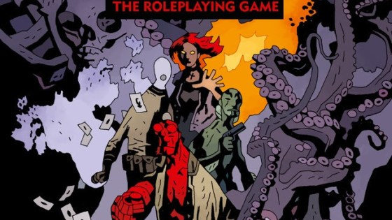 Are you ready for Hellboy: The Roleplaying Game? Soon you can back its Kickstarter!