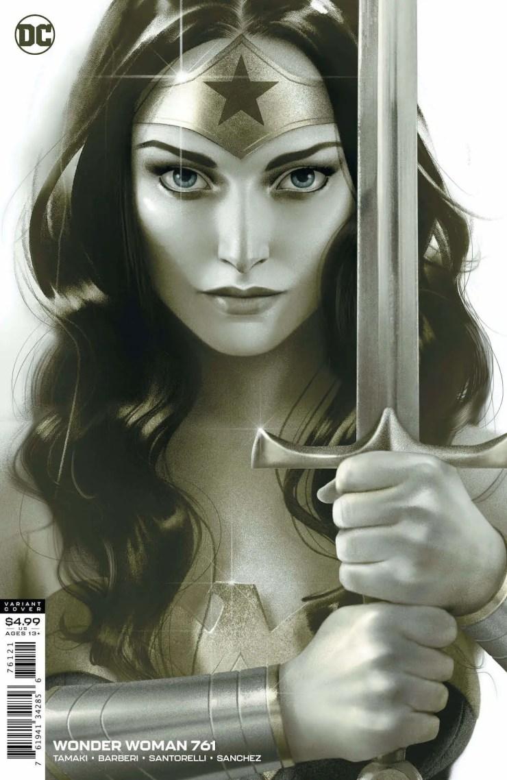 DC Preview: Wonder Woman #761
