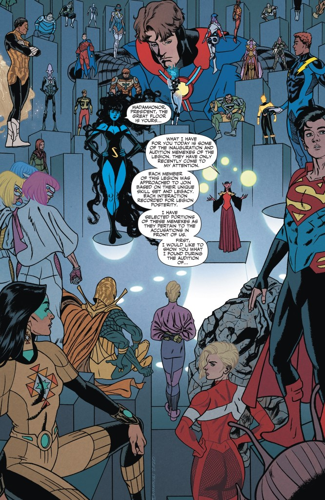 'Legion of Super-Heroes' #9 review
