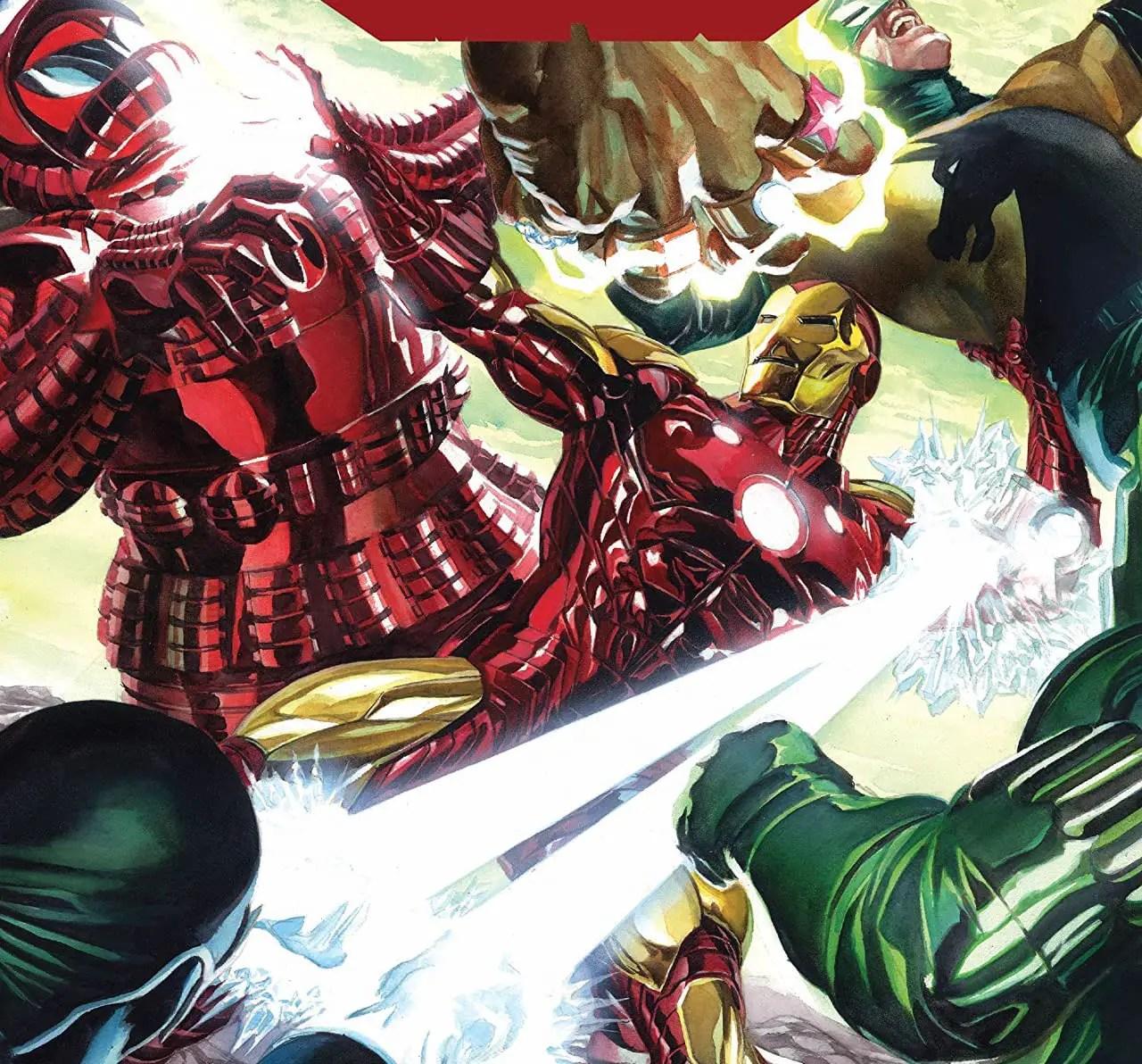 'Iron Man' #1 review