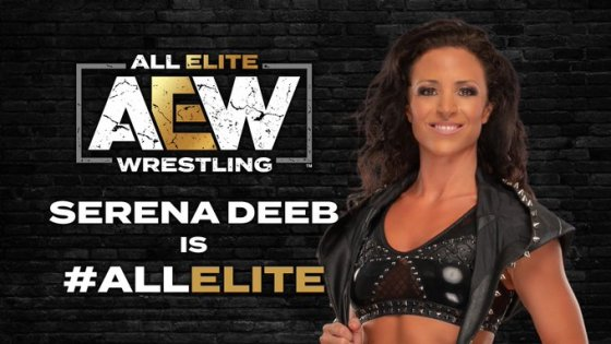 Serena Deeb's AEW contract signing has been made official after a great showing against Thunder Rosa three weeks ago.
