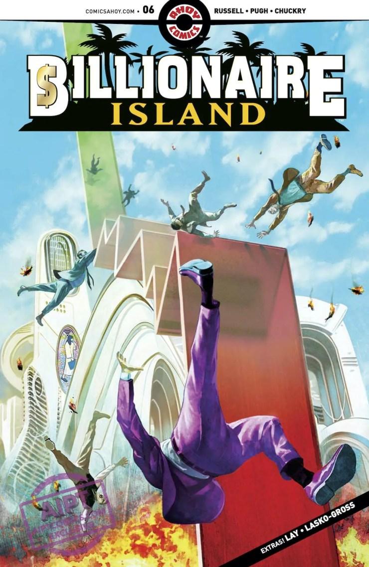 AHOY Preview: Billionaire Island #6