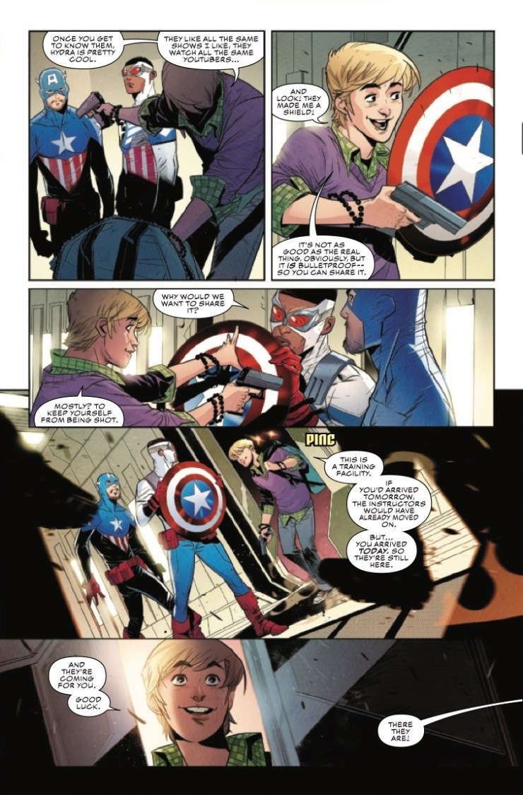 Marvel Preview: Falcon & Winter Soldier #3