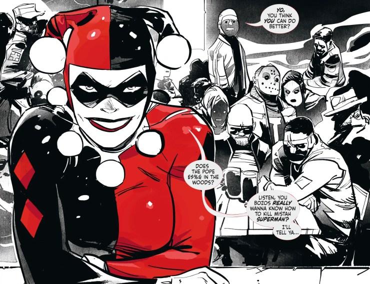 Harley Quinn: Black + White + Red #11