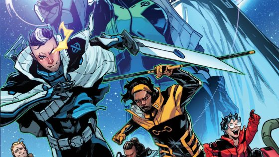 Marvel Comics announces new X-Men title 'S.W.O.R.D.' #1