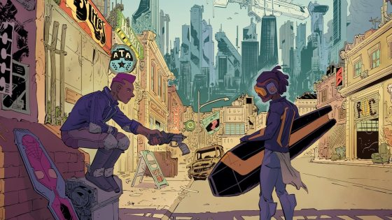 Kickstarter Alert: 120-page sci-fi graphic novel 'The Trap'