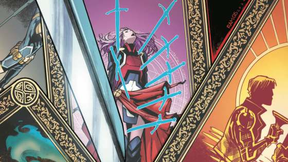 Check out Humberto Ramos and Edgar Delgado's 'X of Swords: Stasis' variant cover.