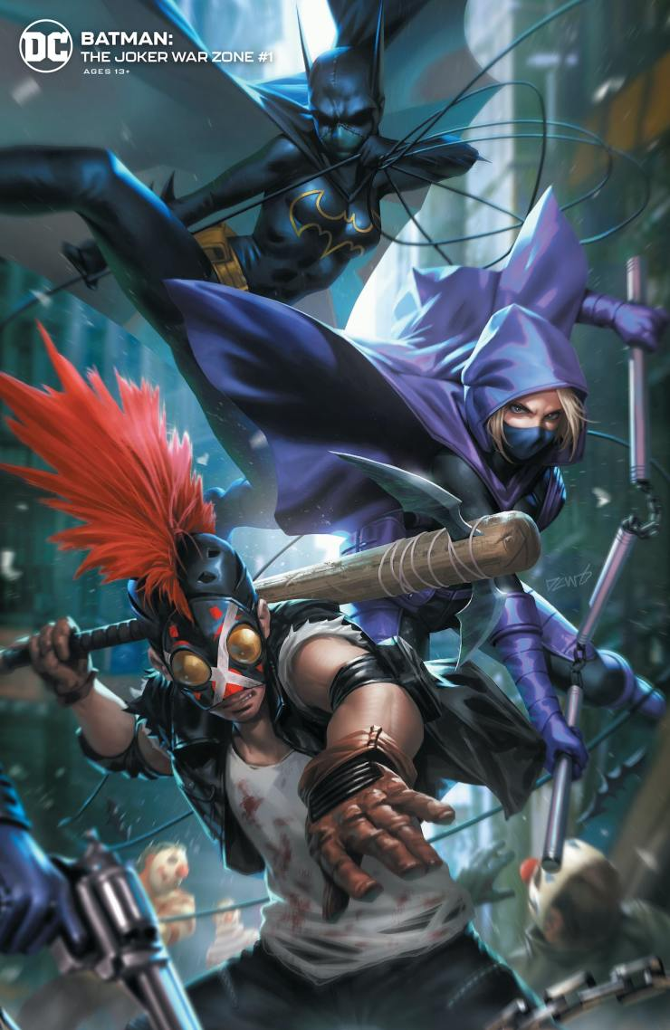 DC Preview: Batman: The Joker War Zone #1