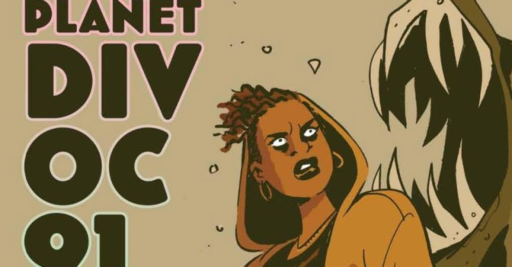 Exploring 'Planet Divoc-91' with UK comics laureate Hannah Berry