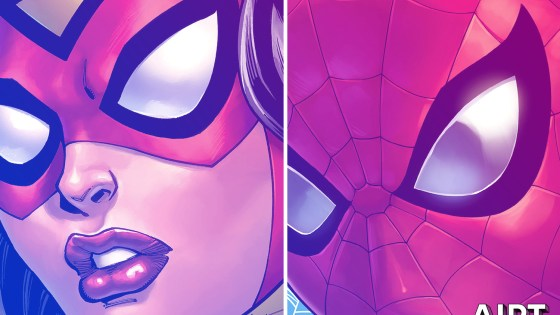 Get an extreme up-close look at three heroes in the newly revealed Todd Nauck covers.
