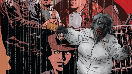 The Walking Dead covers will be released over the course of the first story arc of The Walking Dead Deluxe full-color editions.