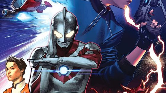 In 'The Rise of Ultraman' #2, the destinies of two heroes must reconcile as Ultra and Man struggle to become one.