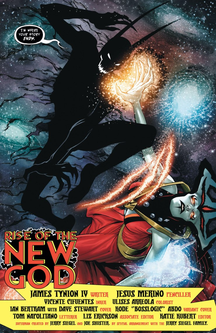 DC Preview: Dark Nights: Death Metal Rise of the New God #1