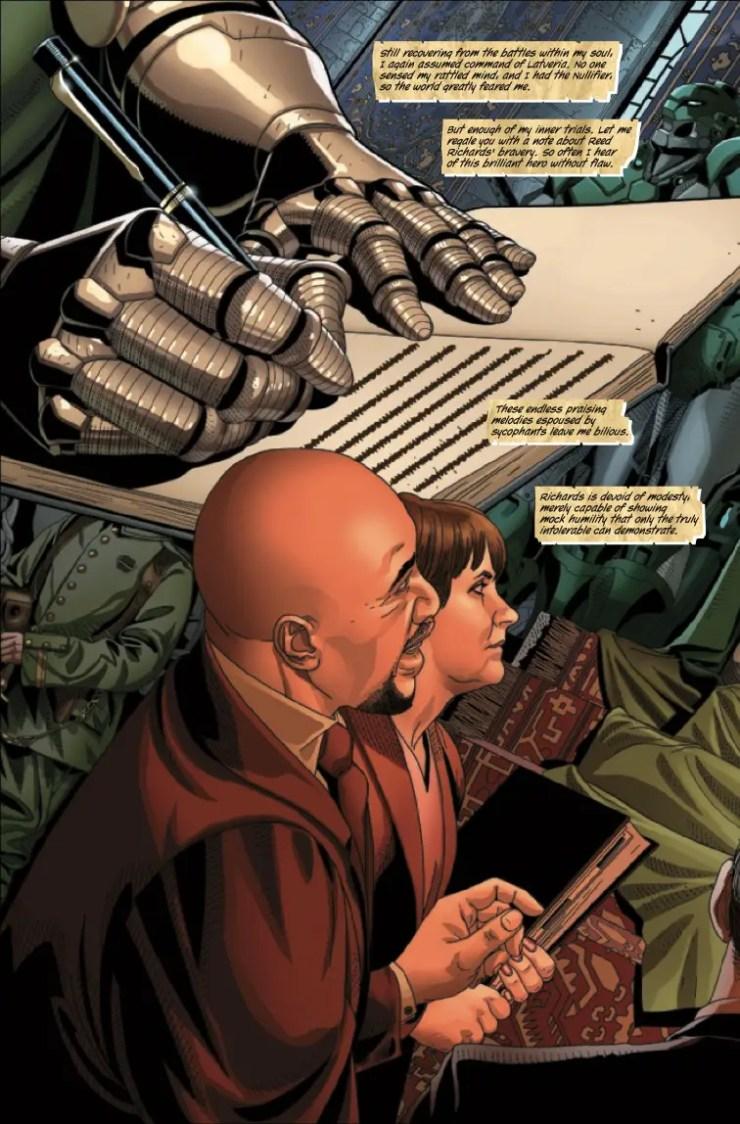 Marvel Preview: Doctor Doom #8