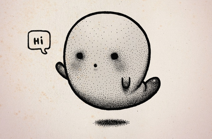 Kickstarter Alert: 'Ghosts Are People Too' by cartoonist Peter Ricq