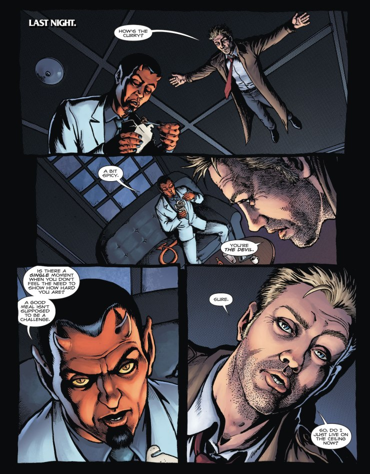 DC Preview: Hellblazer: Rise and Fall #2
