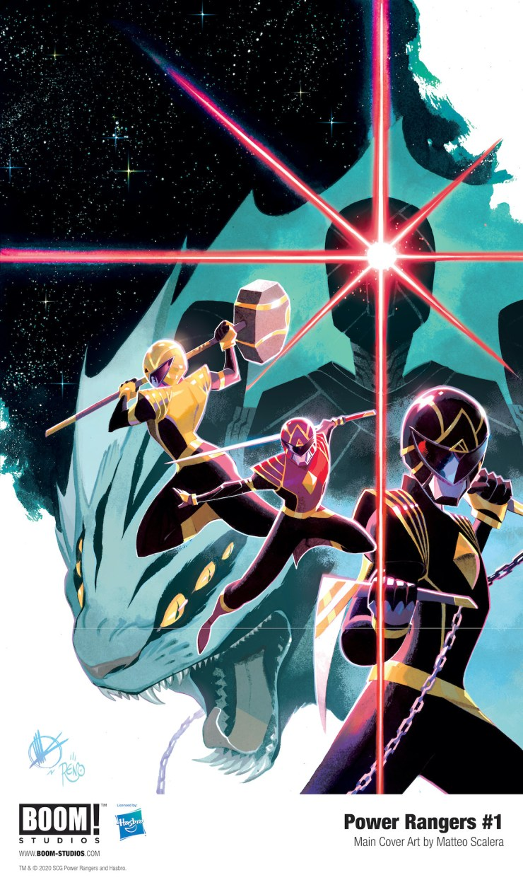 Power Rangers #1 preview BOOM! Studios