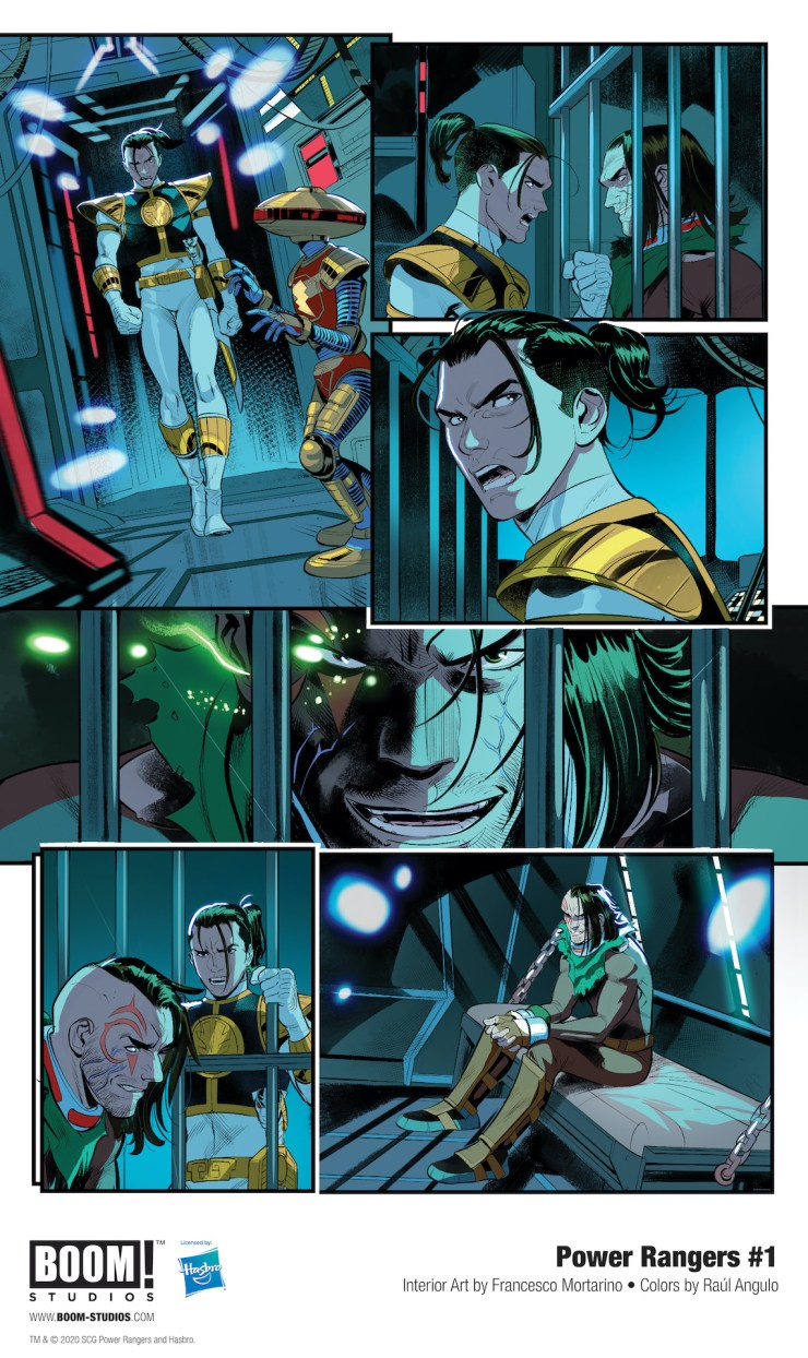 EXCLUSIVE BOOM! Preview: Power Rangers #1