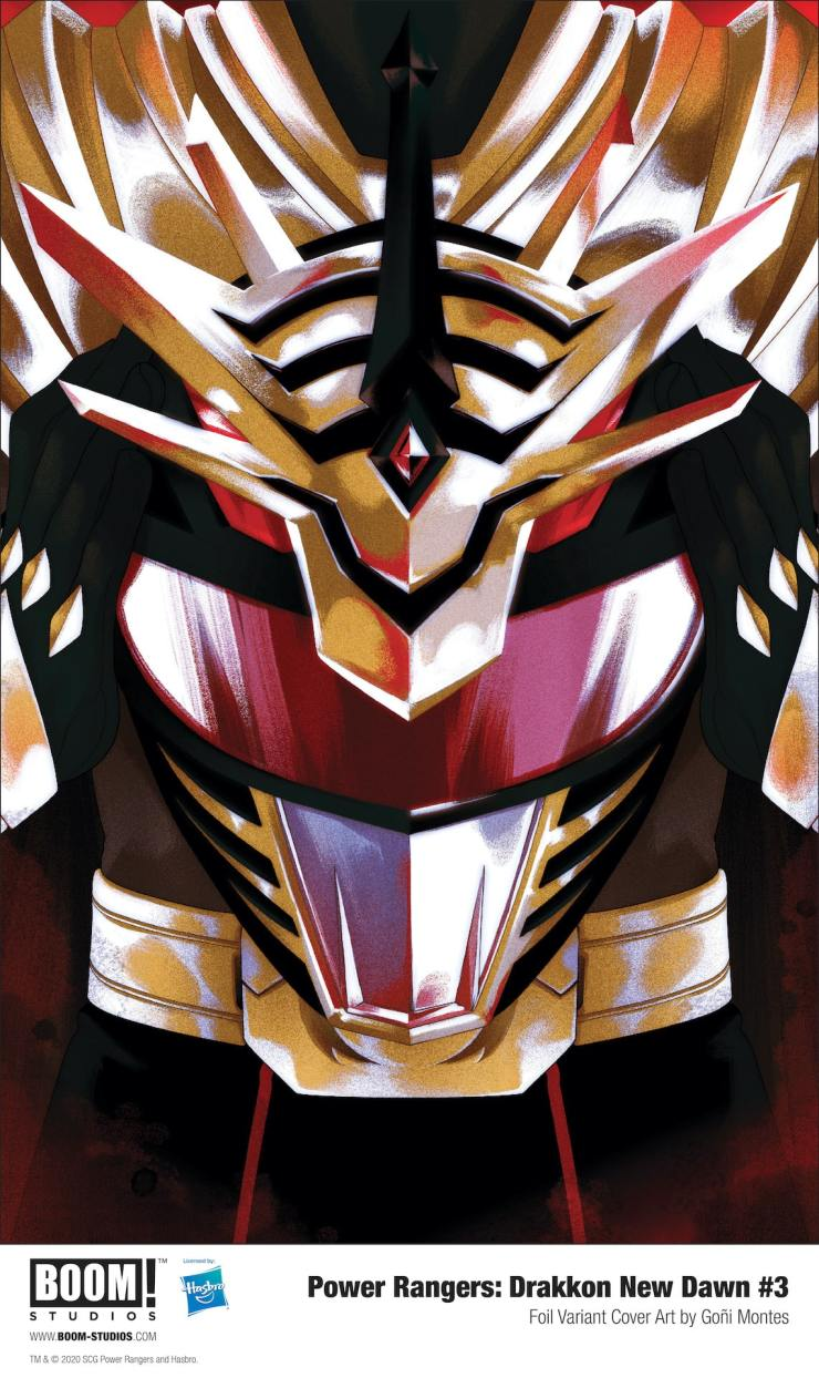 Get ready for the first appearance of The Shattered, in 'Power Rangers: Drakkon New Dawn' #3.
