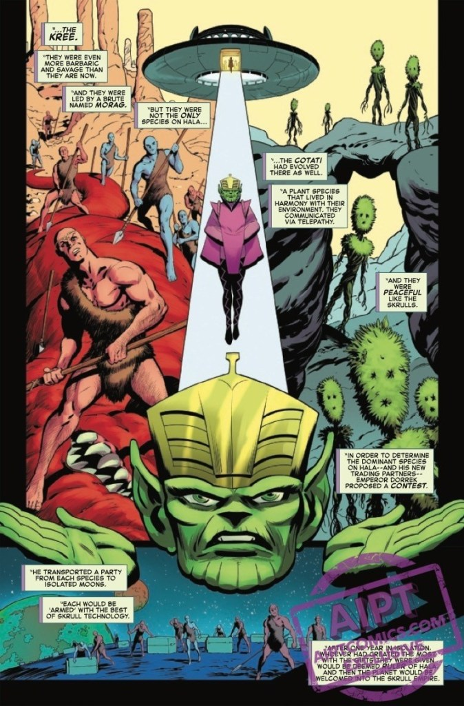 The Road to Empyre: The Kree/Skrull War