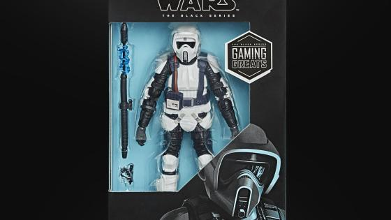 Star Wars Black Series: Scout Trooper added to Gaming Greats line