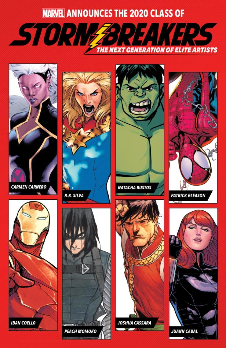 Marvel Comics launches Marvel's Stormbreakers