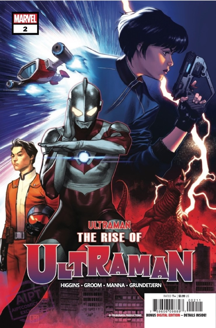 The Rise of Ultraman #2 preview