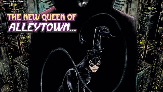 In the aftermath of 'The Joker War,' Selina Kyle has taken up residence in Alleytown.