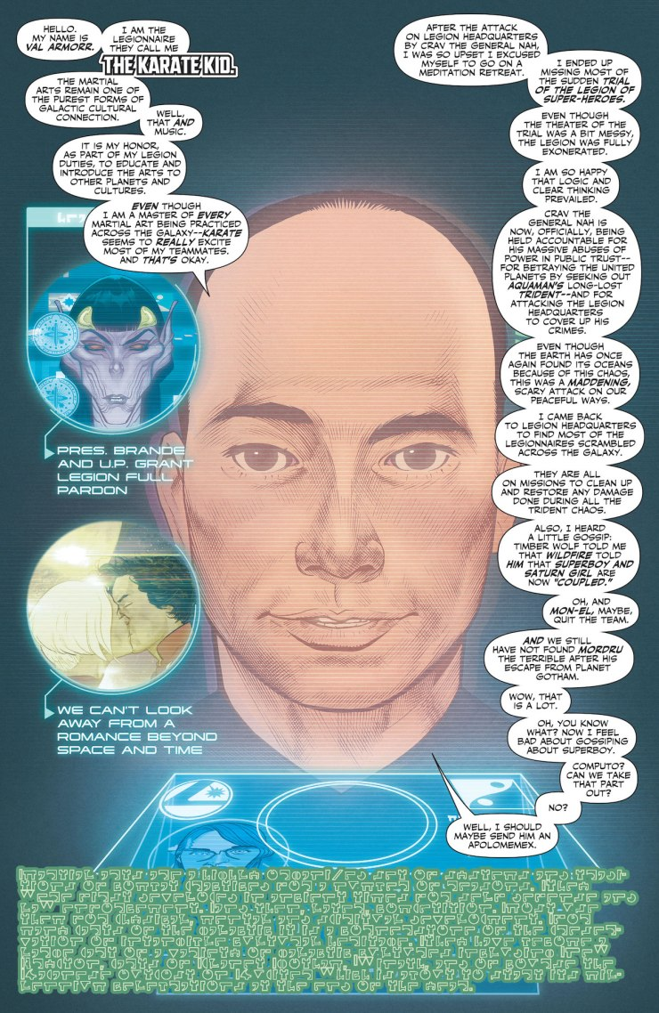 DC Preview: Legion of Super-Heroes #10