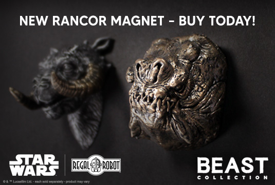 Regal Robot reveals limited edition Star Wars Rancor replica