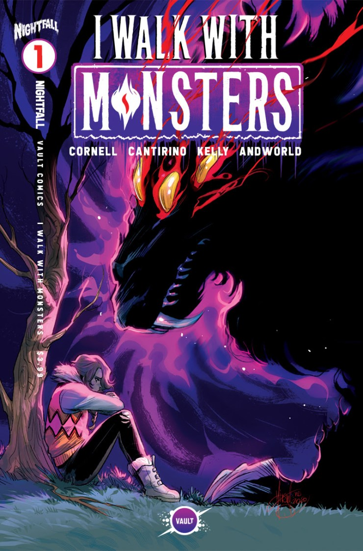 Mirka Andolfo incentive covers for 'I Walk with Monsters' #1