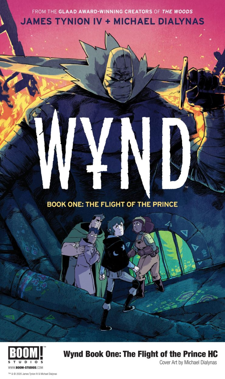 Wynd Book One: The Flight of the Prince Exclusive HC BOOM! Studios