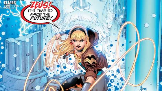 Wonder Girl calls Young Justice together to help her with a family problem.