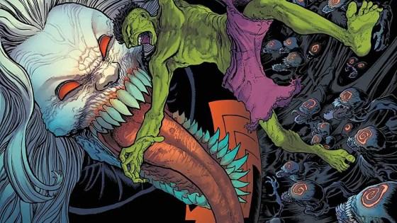 Marvel First Look: King in Black: Immortal Hulk #1