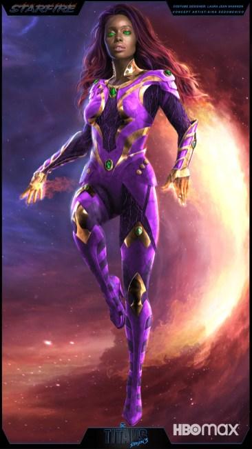 Starfire Titans HBO Max