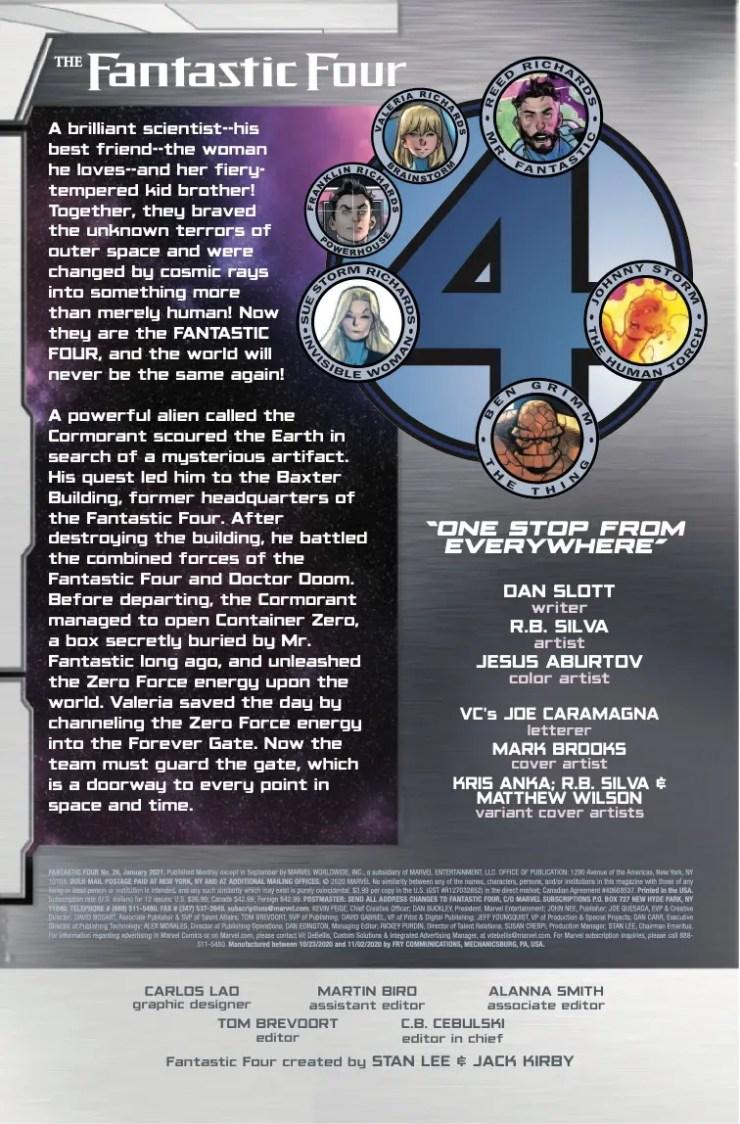 Marvel Preview: Fantastic Four #26