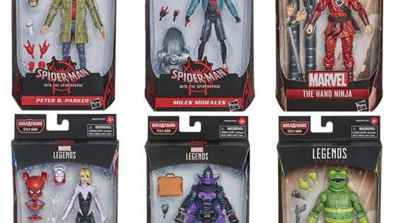 Marvel Legends: Into the Spiderverse Wave revealed!