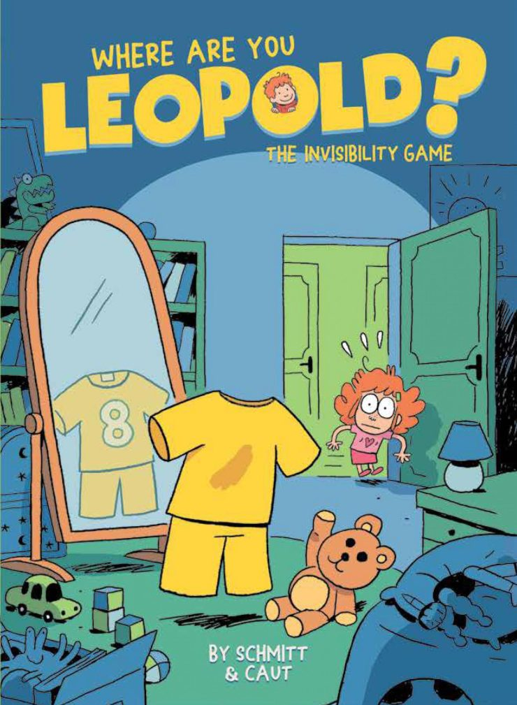 Where Are You Leopold? 1: The Invisibility Game