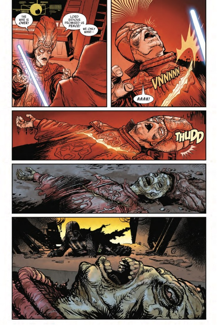 Star Wars: Darth Vader #7 preview