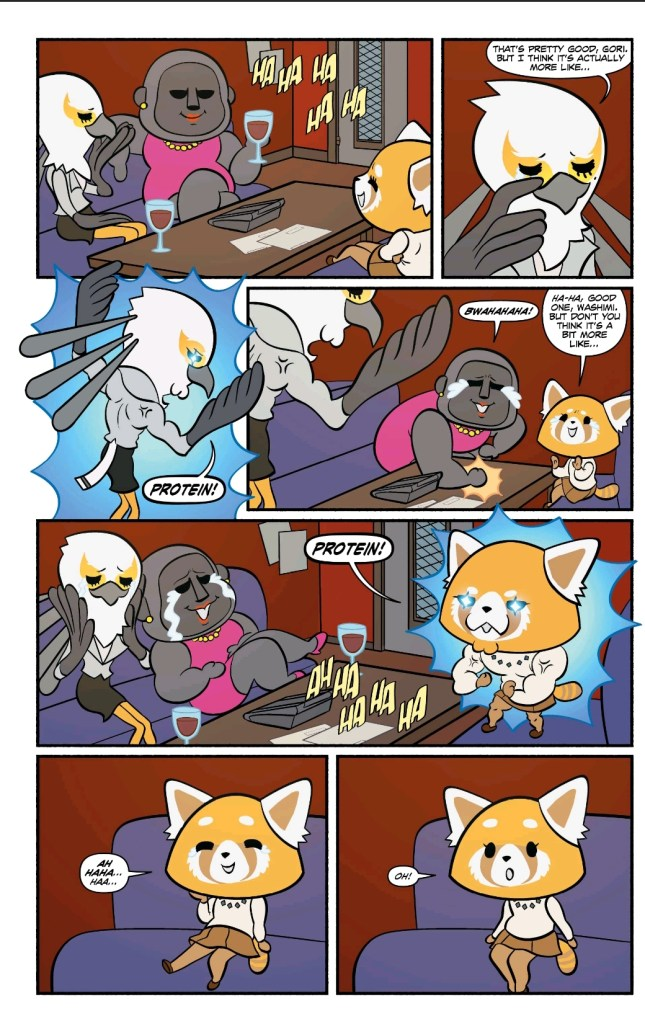'Aggretsuko: Meet Her Friends' #1 review