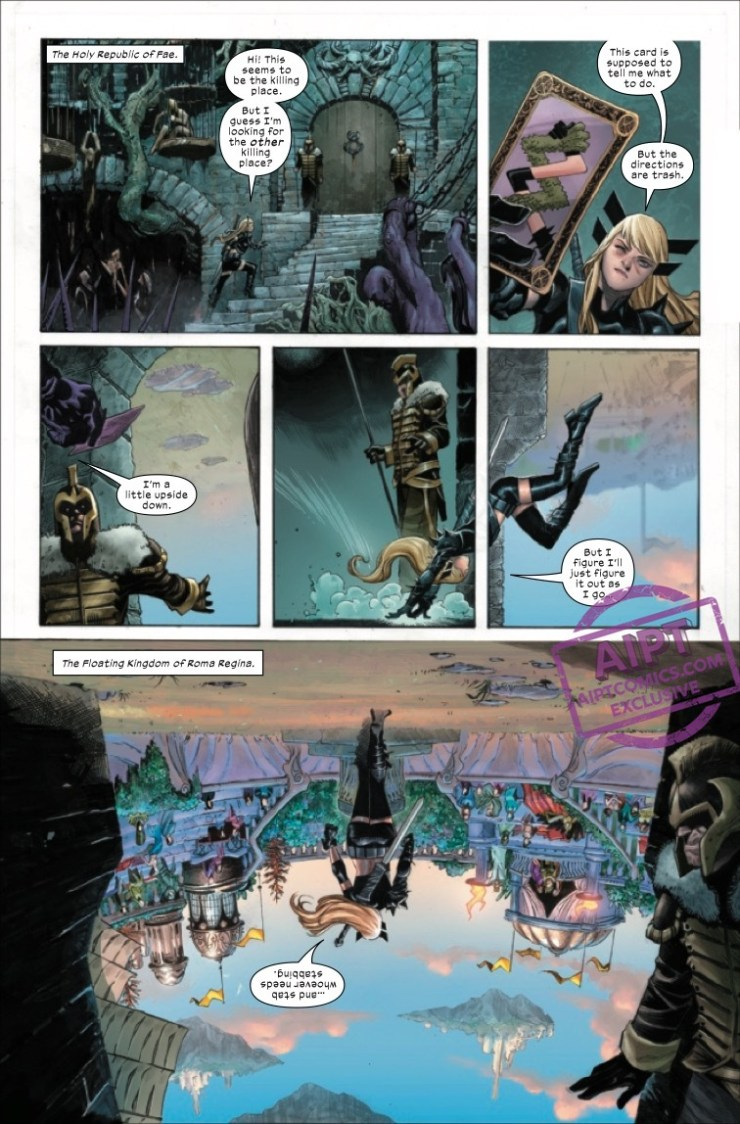 Wolverine #7 x of swords 16